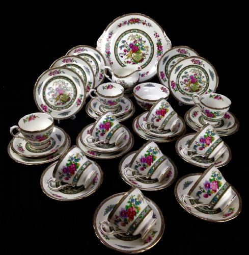 Vintage Paragon Tea Set / Afternoon Tea / Tree Of Kashmir 33 Piece For 10 People